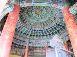 Temple of Heaven pagoda inside