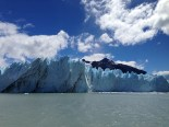 Perito Moreno glacier outside of El Calafate