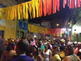 Recife Carnaval streets packed