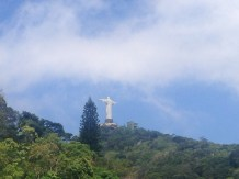 Christ the Redeemer as we approached
