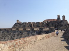 The fort at Cartagena