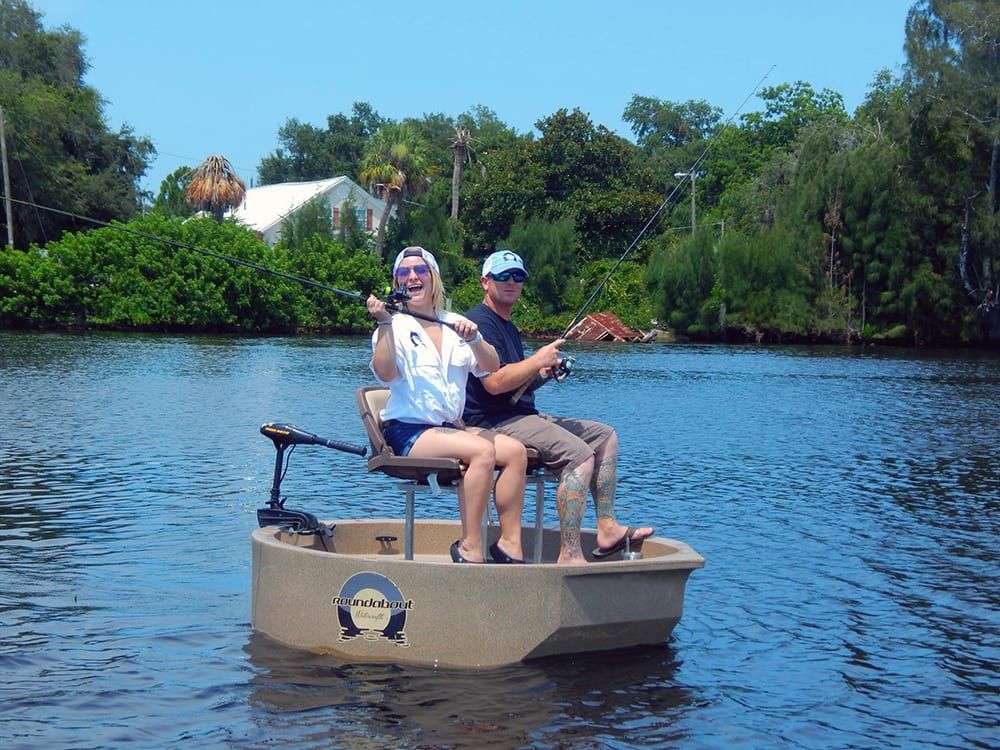 2 seat conversion kit roundabout watercrafts for Round fishing boat