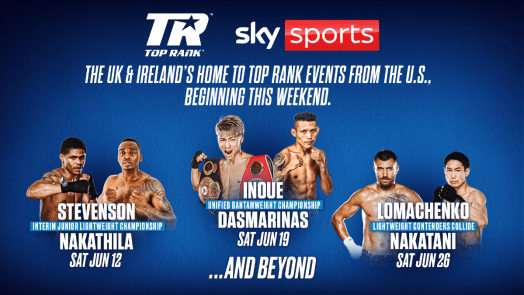 TOP RANK, SKY SPORTS & BOXXER JOIN FORCES | Round By Round Boxing