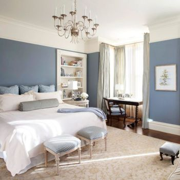 Beautiful bedrooms with white furniture (18)