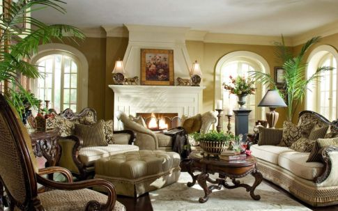 Best ideas luxurious and elegant living room design (10)