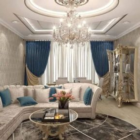 Best ideas luxurious and elegant living room design (20)