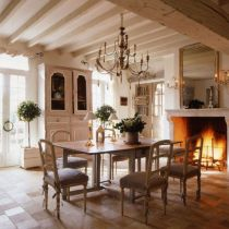Charming and beautiful provence dining spaces (11)