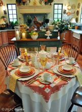 Charming and beautiful provence dining spaces (2)