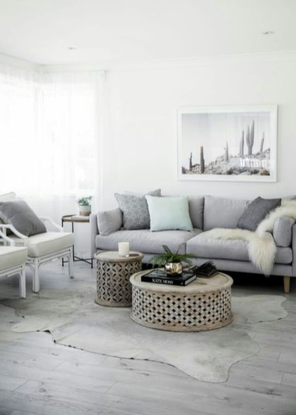 Cool brown and blue living room designs (11)