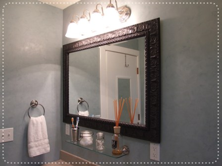 Cool ideas to use big mirrors in your bathroom (15)