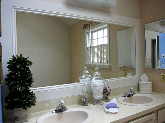 Cool ideas to use big mirrors in your bathroom (23)