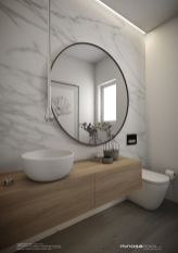 Cool ideas to use big mirrors in your bathroom (3)