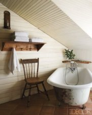 Cozy and relaxing farmhouse bathroom designs (20)