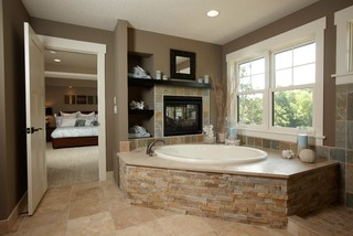 Cozy and relaxing farmhouse bathroom designs (28)