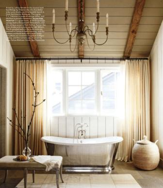 Cozy and relaxing farmhouse bathroom designs (30)