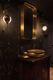 Dark moody bathroom designs that impress (3)