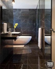 Dark moody bathroom designs that impress (4)