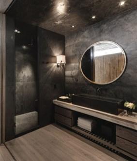 Dark moody bathroom designs that impress (6)