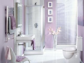 Delicate feminine bathroom design ideas (19)