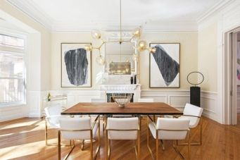 Elegant feminine dining room design ideas (1)