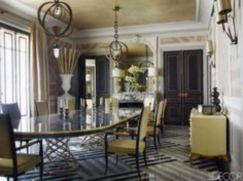 Elegant feminine dining room design ideas (14)