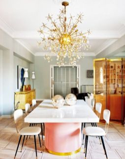 Elegant feminine dining room design ideas (22)