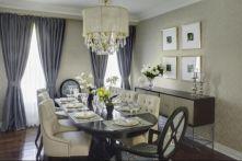 Elegant feminine dining room design ideas (23)