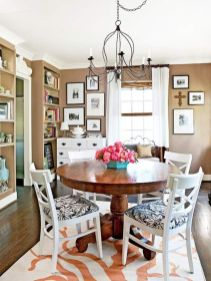 Elegant feminine dining room design ideas (27)