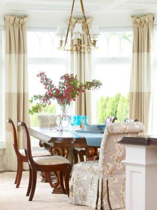 Elegant feminine dining room design ideas (5)