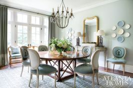 Elegant feminine dining room design ideas (6)