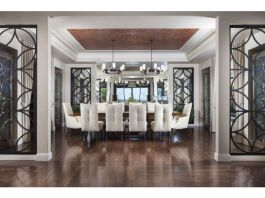 Elegant feminine dining room design ideas (7)