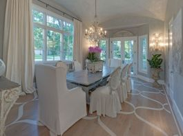 Elegant feminine dining room design ideas (8)