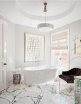 Luxurious marble bathroom designs (19)