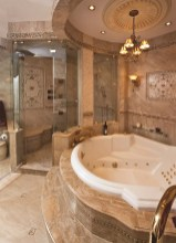 Luxurious marble bathroom designs (22)