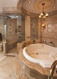 Luxurious marble bathroom designs (22)