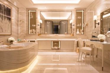 Luxurious marble bathroom designs (9)