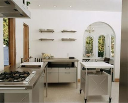 Simple but smart minimalist kitchen design (21)