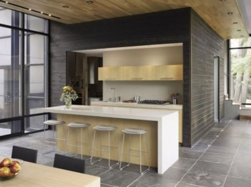 Simple but smart minimalist kitchen design (23)
