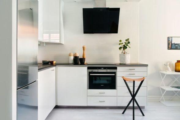 Simple but smart minimalist kitchen design (26)