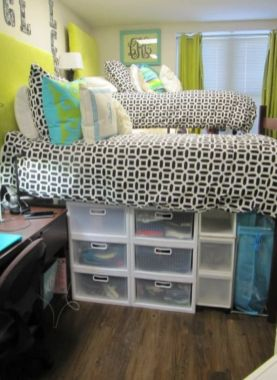 Smart bedroom storage ideas (12)