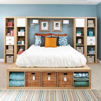 Smart bedroom storage ideas (7)