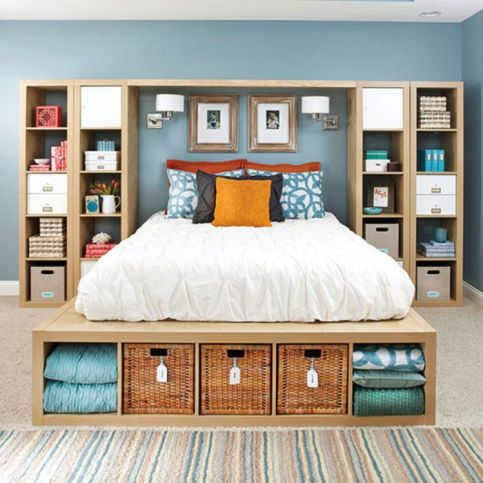 Smart bedroom storage ideas (7)