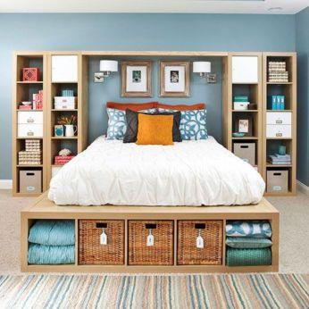 Smart bedroom storage ideas (8)