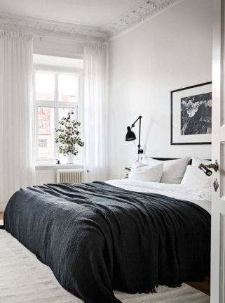 Stylishly minimalist bedroom design ideas (17)