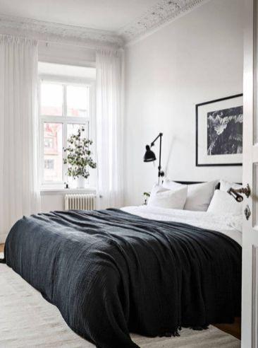 Stylishly minimalist bedroom design ideas (17)