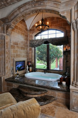 Wonderful stone bathroom designs (25)