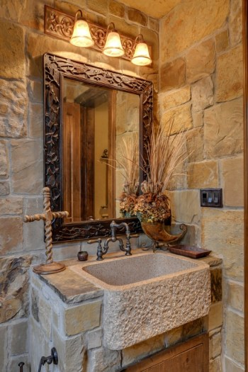 Wonderful stone bathroom designs (27)