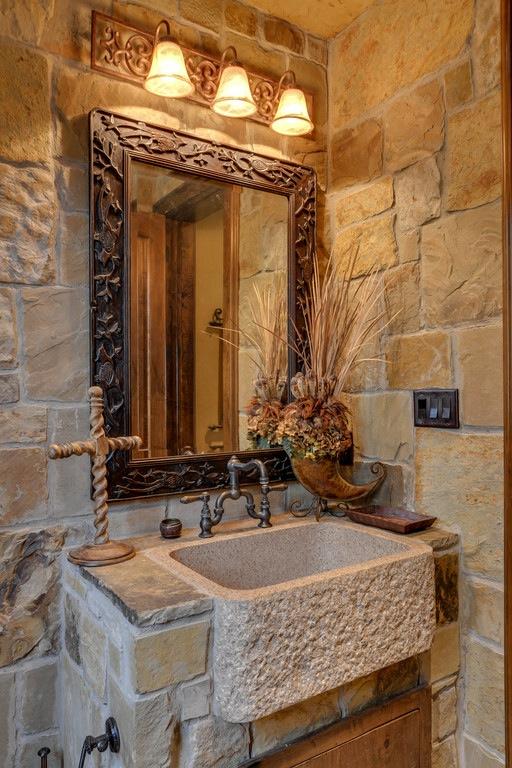 Charmant Wonderful Stone Bathroom Designs (27)