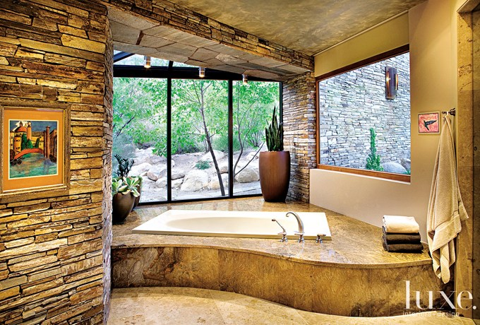 Wonderful stone bathroom designs (29)