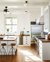 Modern farmhouse kitchen design ideas 05